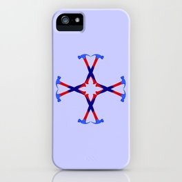 Hammers Design version 2 iPhone Case