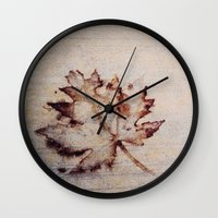 concrete Wall Clocks featuring Concrete by PandaBaby