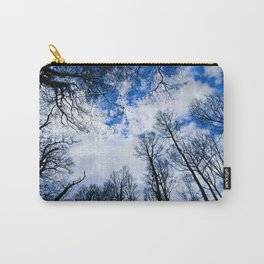 Reaching blue Carry-All Pouch