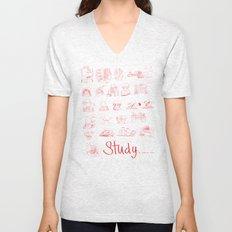 Study... Unisex V-Neck