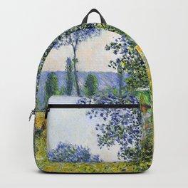 Claude Monet Sunlight Effect Under The Poplars 1887 Backpack