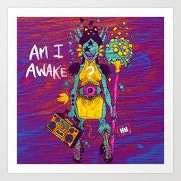 AMI AWAKE Art Print