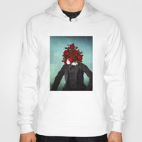 romantic Hoodies featuring MR. Romantic by Diogo Verissimo