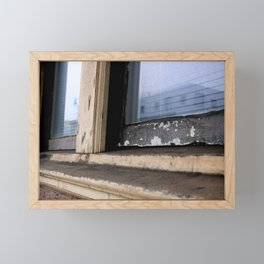 By The Freeway Framed Mini Art Print