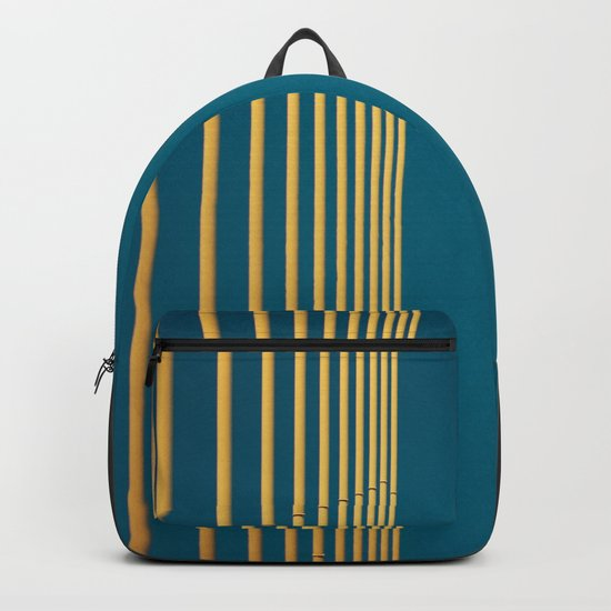Yellow lines into the sky Backpack
