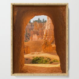Doorway Bryce Canyon Utah, United States Serving Tray