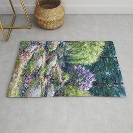 Path to Lilacs Rug