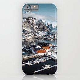 reine at landscape iPhone Case