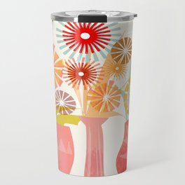 Three Vases Travel Mug