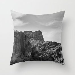 Superstition Mountains - Arizona II Throw Pillow