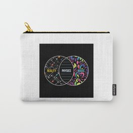 Physics Like Magic But Real - Funny Physics Pun Gift Carry-All Pouch