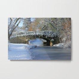 Winter at Lady's Bridge Metal Print