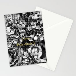 Love Passionately Stationery Cards