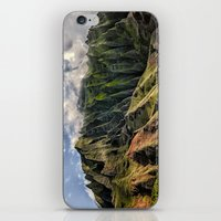spires iPhone & iPod Skins featuring Na' Pali Spires, Kauai, Hawaii  by Elliott's Location Photography