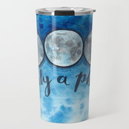 It's Only A Phase Lunar Art Travel Mug