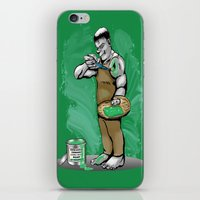 hulk iPhone & iPod Skins featuring Hulk by RebeccaMiller