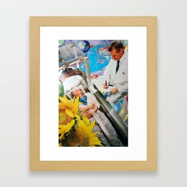Invaders From Space Framed Art Print
