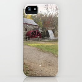 Wayside Inn Mill iPhone Case