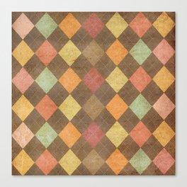 pattern grundgy Canvas Print