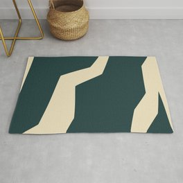 Abstract Paths Rug