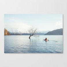 That Wanaka tree kayak session Canvas Print