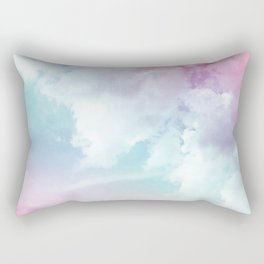 Cotton Candy Sky Rectangular Pillow