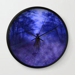 Eerie Alien Wall Clock