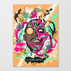 Flying Lotus Canvas Print