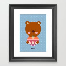 my sweet heart Framed Art Print