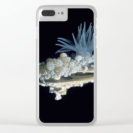 Underwater Creatures Tunicates and Anemonies Clear iPhone Case