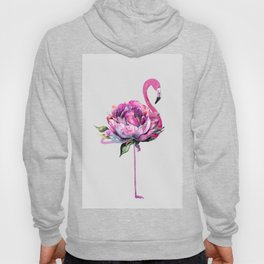 Flower Flamingo Hoody