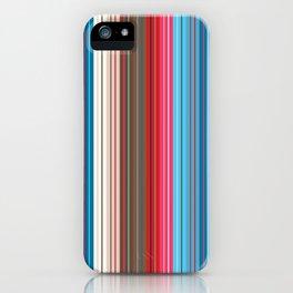 Cowboy Stripes iPhone Case