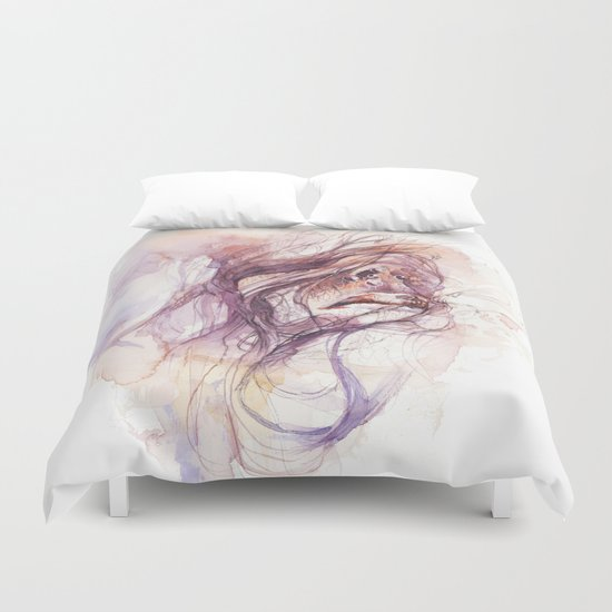 If you excuse me, I'll scream Duvet Cover