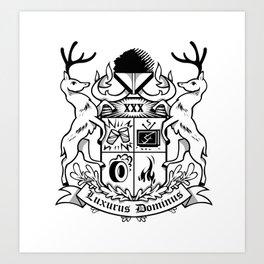 Luxurus Dominus Art Print