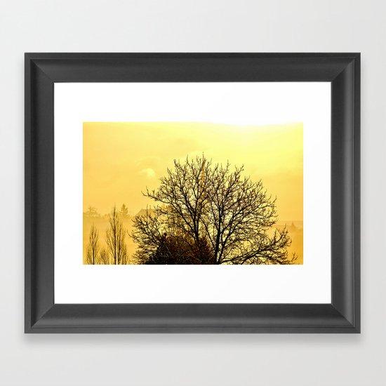 Blessed Morning Framed Art Print