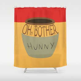 Oh, Bother Shower Curtain