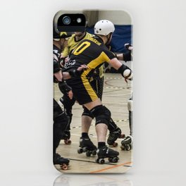 Tyne and Fear on the offense iPhone Case