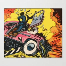 Car Crash Canvas Print