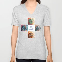 The Queen of Everything Unisex V-Neck