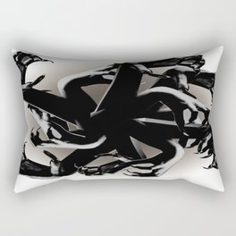 Claws Attack  Rectangular Pillow