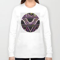 native american Long Sleeve T-shirts featuring Native American by Ben Geiger