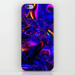 Psych Waves iPhone Skin