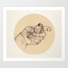 Organic III Art Print