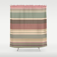 chill Shower Curtains featuring chill by Dana