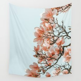 Pink Spring #4 Wall Tapestry