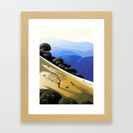 The Dead Tree Framed Art Print
