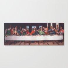 Lego: Last Supper Canvas Print