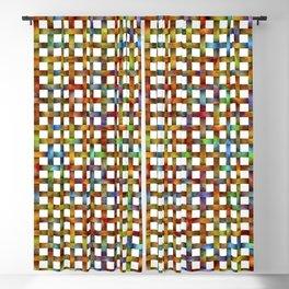 Bubbly Colours Weave Pattern Blackout Curtain