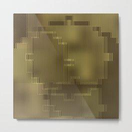 Maria's 24 Carat Abstract Metal Print