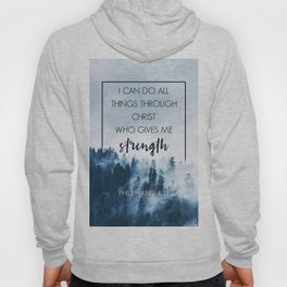 Forest Philippians 4:13 Hoody